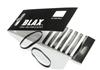 Blax Snag-Free Hair Elastics 4 mm 8pcs – Black