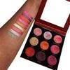 Makeup Revolution Pressed Glitter Palette – Hot Pursuit 1,2g