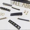 DARK Crystal Bobby Pins 2 kpl ─ Charcoal