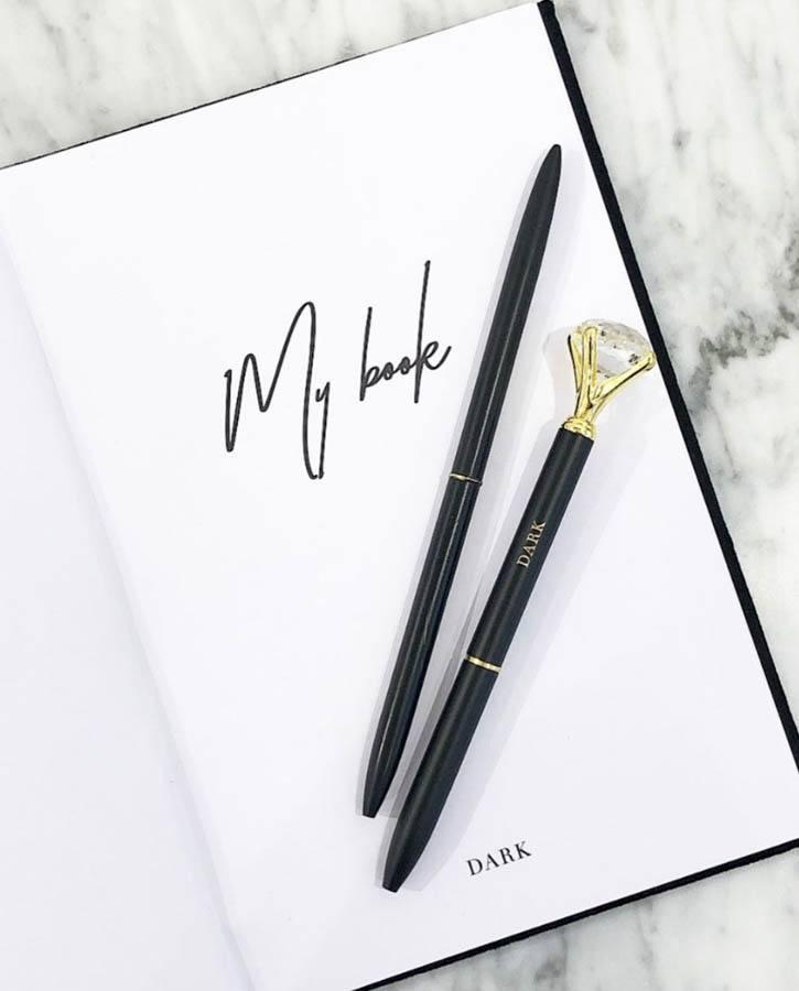 DARK Diamond Pen ─ Matte Black