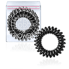 Invisibobble 3 Extra Strong Hair Rings, True Black