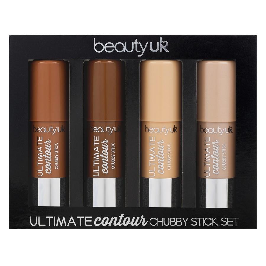 Beauty UK Ultimate Contour Chubby Stick – Lahjasetti (4 kpl / 4x 6g)