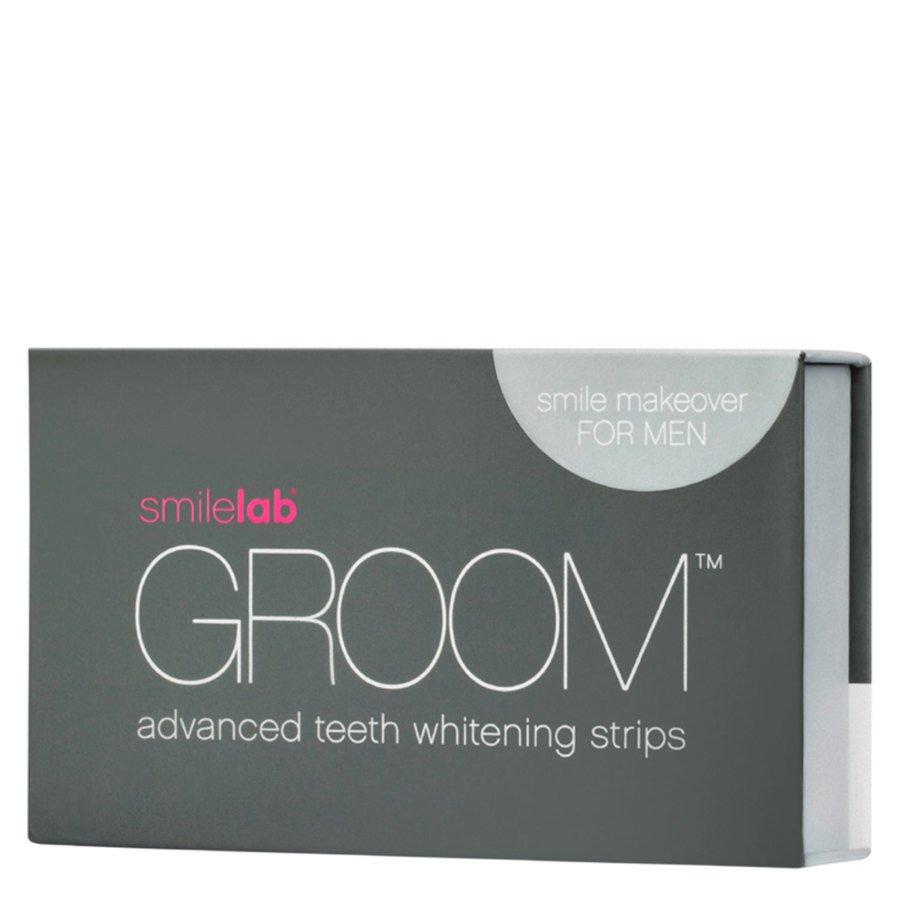 Smilelab Groom Advanced Teeth Whitening Strips 10 x 2 kpl