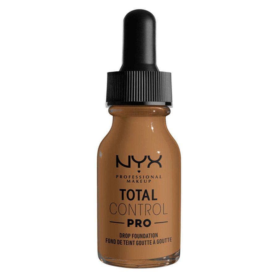 NYX Professional Makeup Total Control Pro Drop Foundation 13 ml ─ Nutmeg
