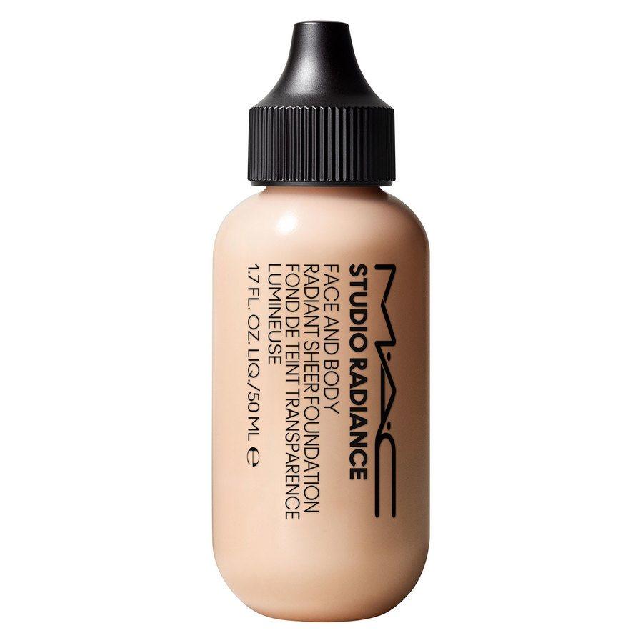MAC Cosmetics Studio Radiance Face And Body Radiant Sheer Foundation 50 ml ─ W0