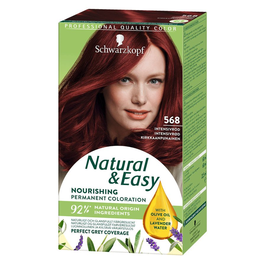 Schwarzkopf Natural & Easy ─ 568 Intensive Red
