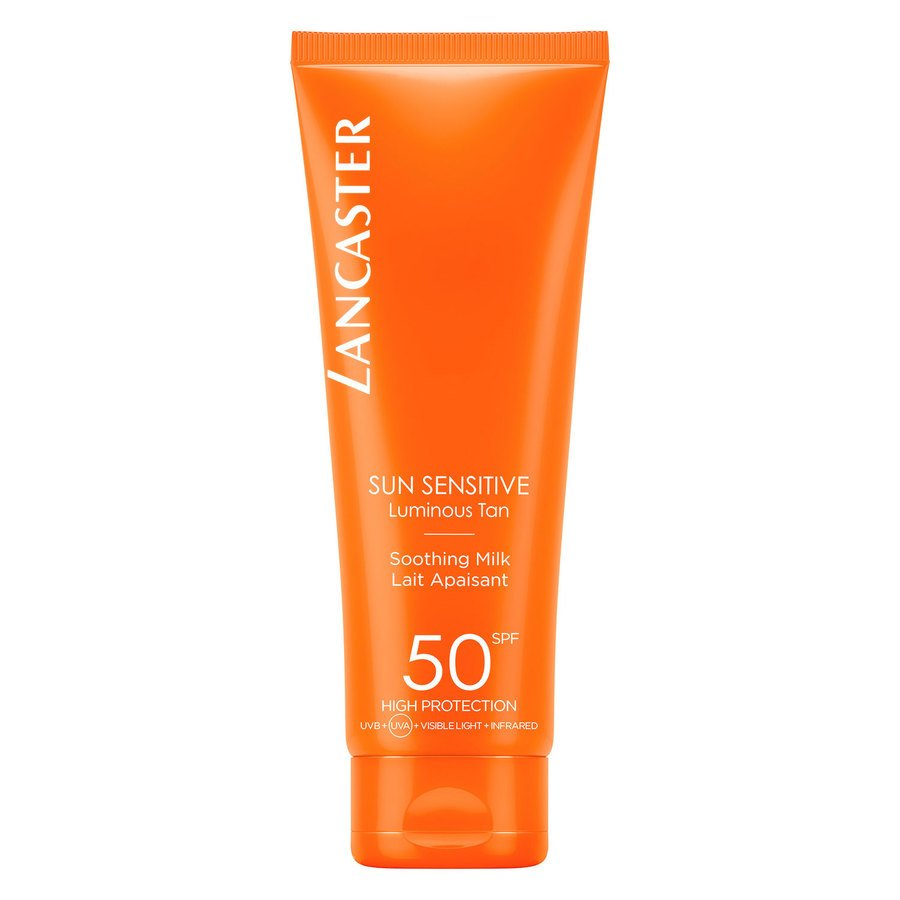 Lancaster Sun Sensitive Luminous Tan Soothing Milk SPF50 125 ml