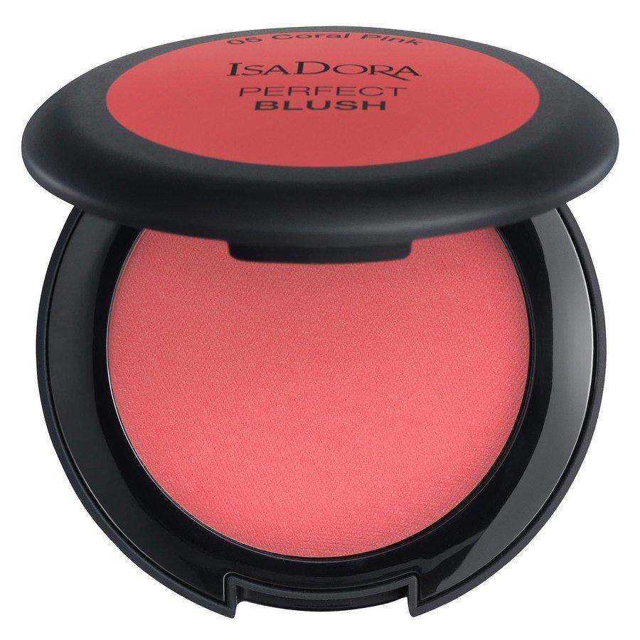 IsaDora Perfect Blush 4,5 g – 05 Coral Pink