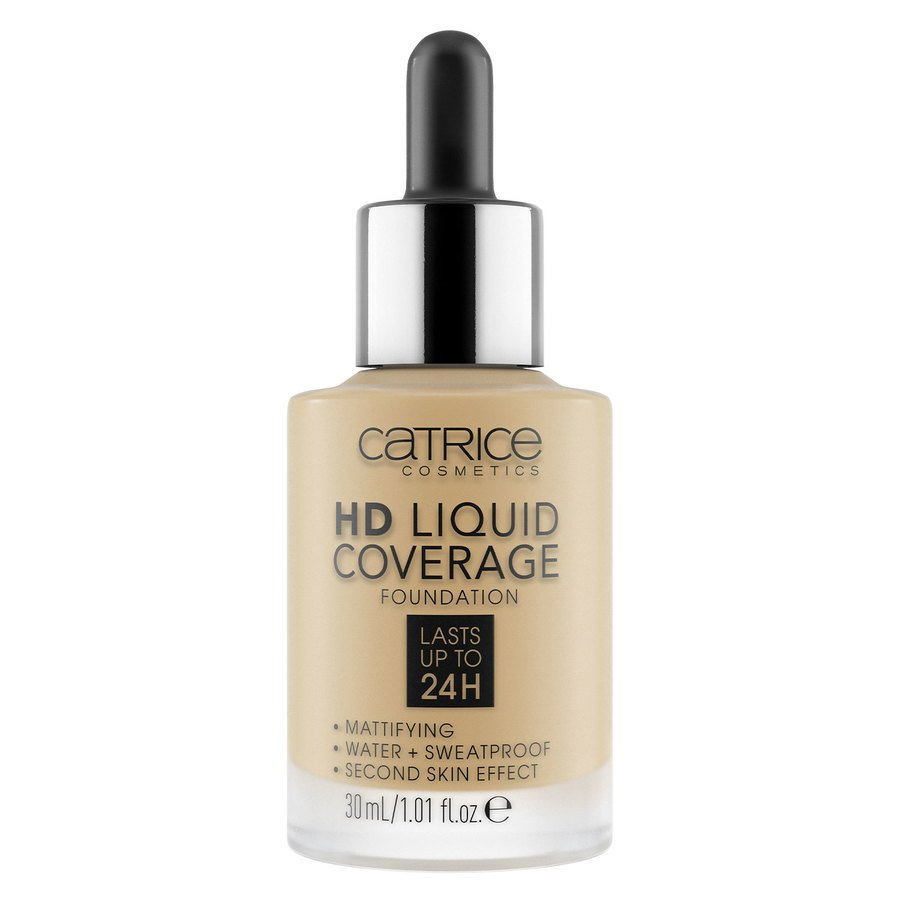 Catrice HD Liquid Coverage Foundation 30 ml – Natural Beige 035