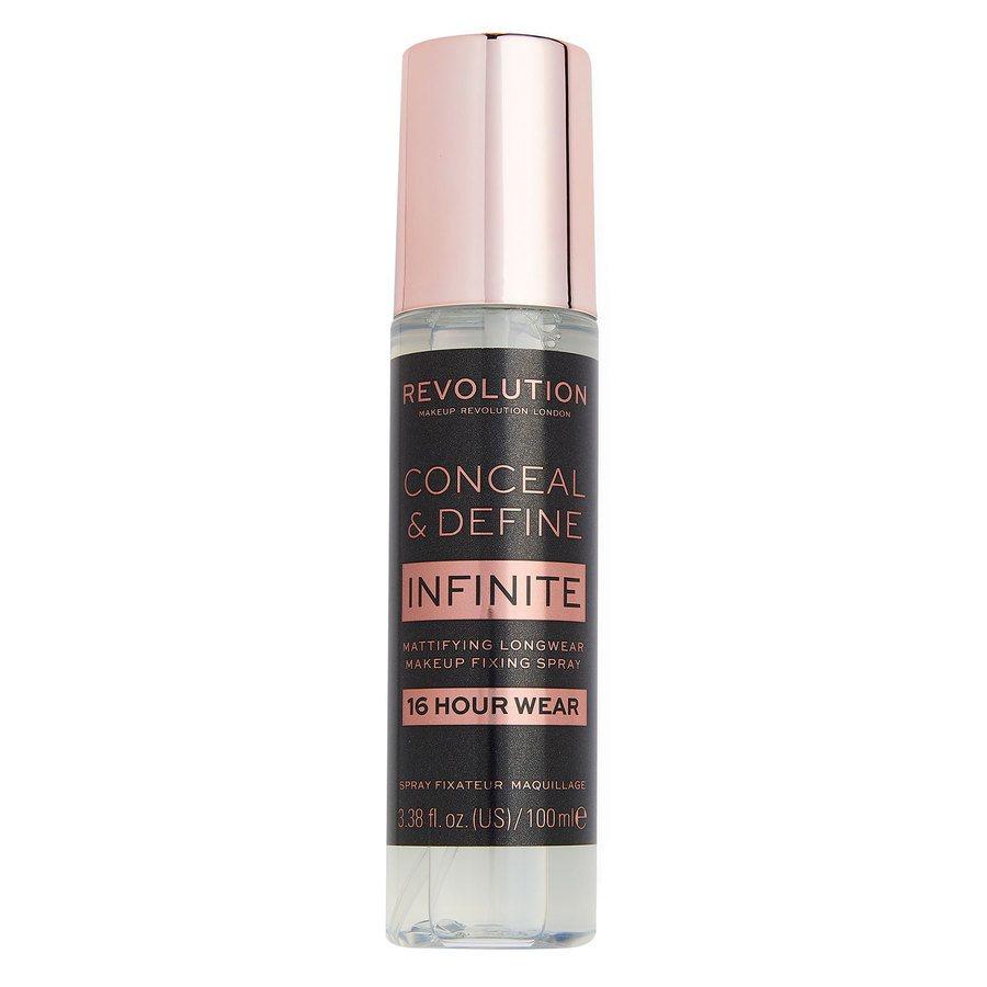 Makeup Revolution Conceal & Define Infinite Fixing Spray 100 ml