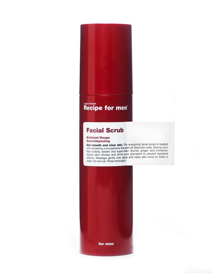 Recipe For Men Facial Scrub 100 ml