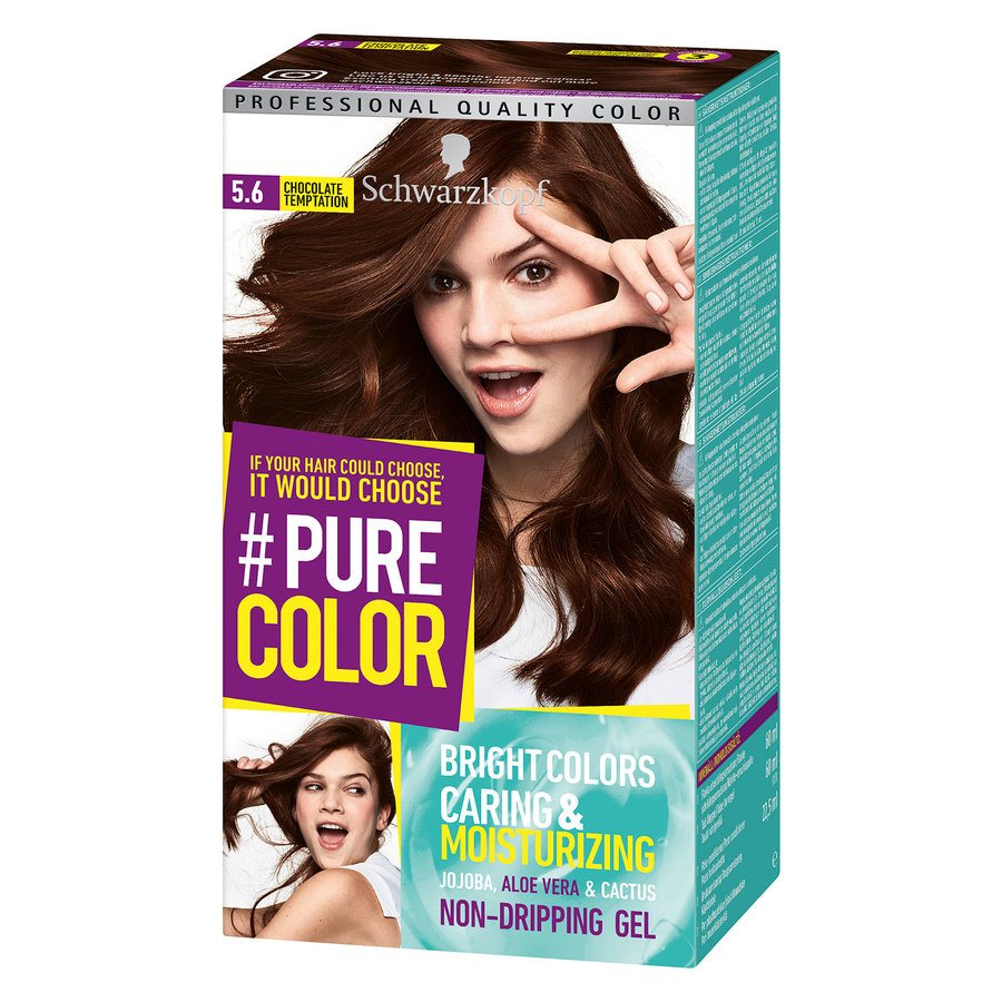 Schwarzkopf Pure Color 142 g ─ 5.6 Chocolate Temptation