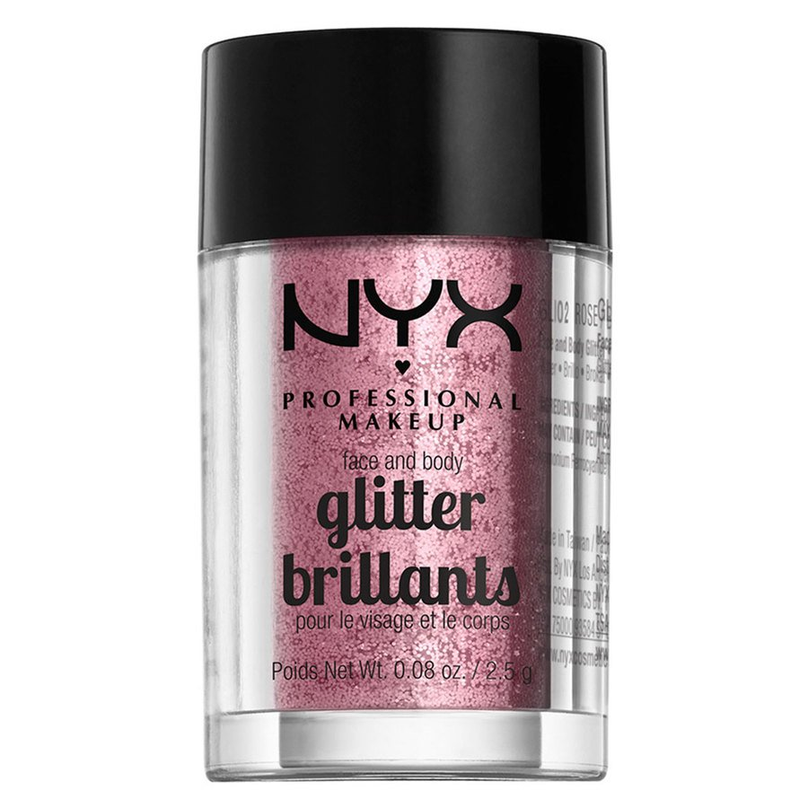 NYX Professional Makeup Face And Body Glitter Brillants 2,5g – Rose GLI02