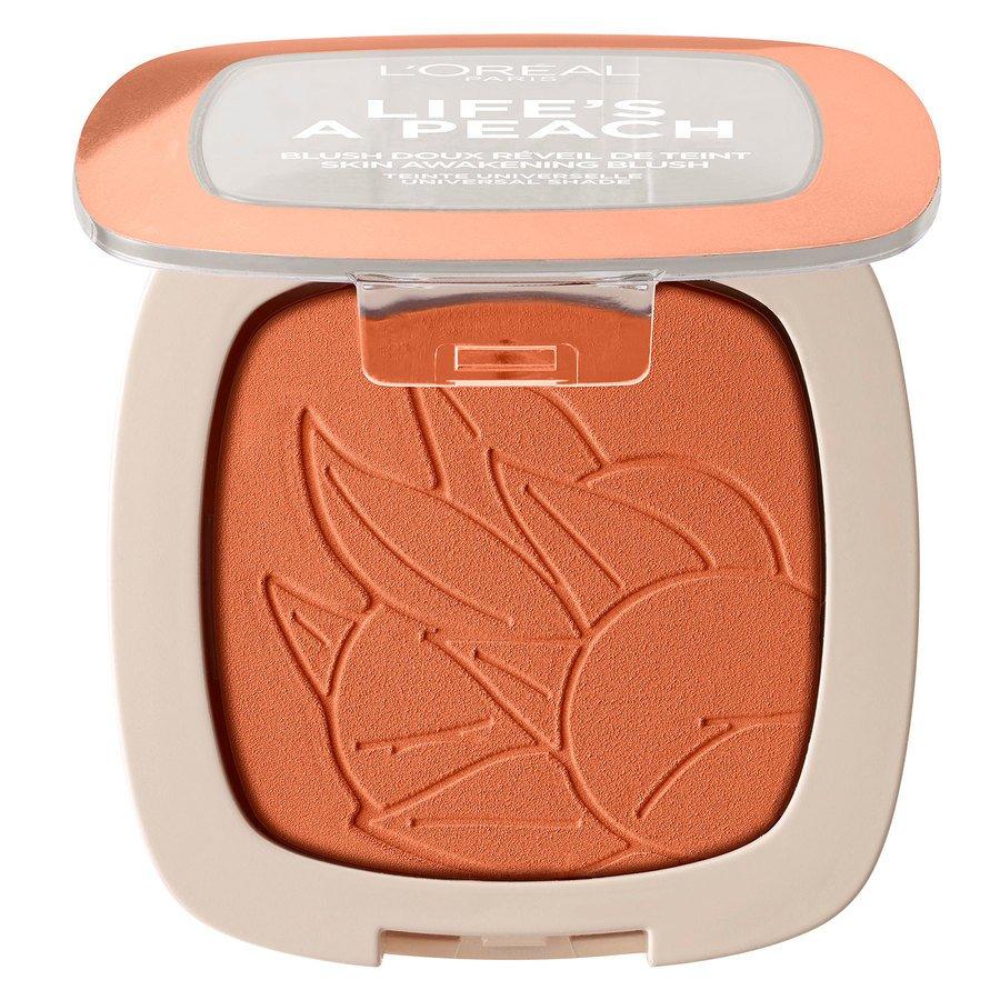 L'Oréal Paris Life's a Peach Blush Powder 9 g - Peach Addict
