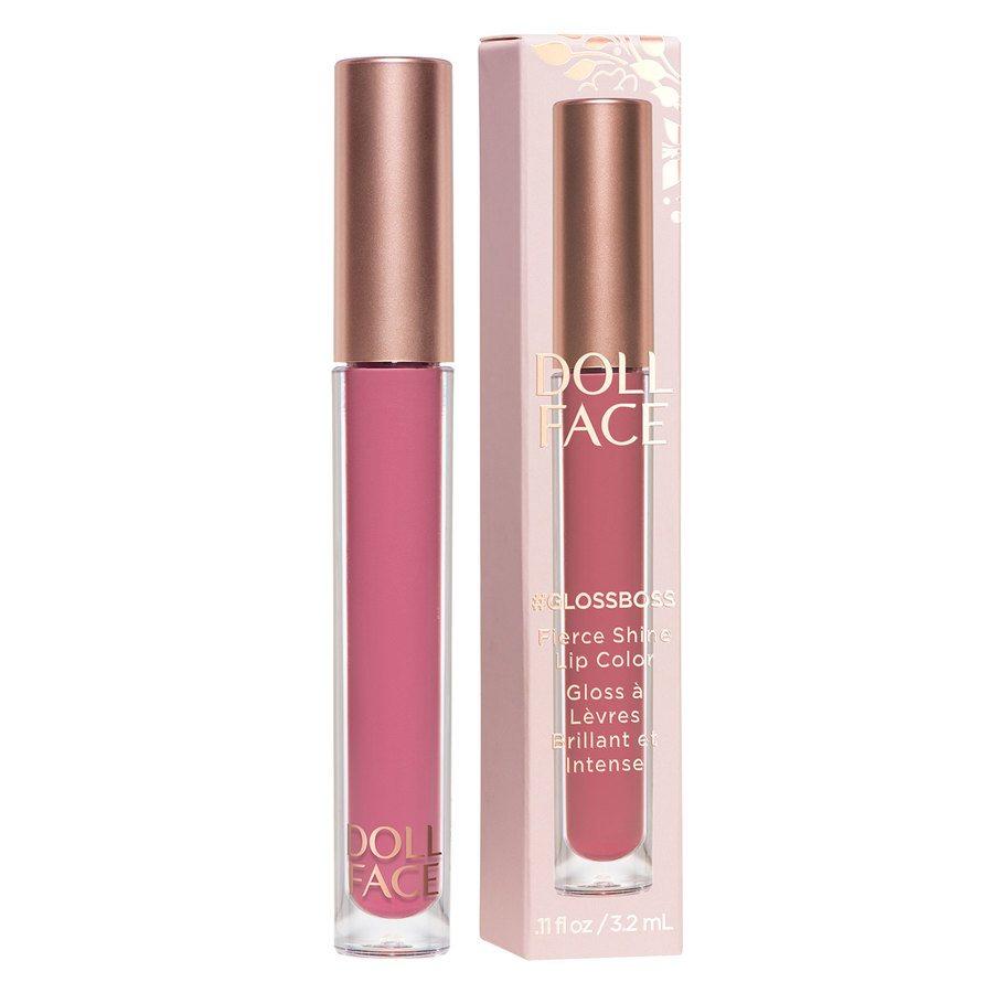 Doll Face #GlossBoss Fierce Shine Lip Color 3,3 ml ─ #GirlPower