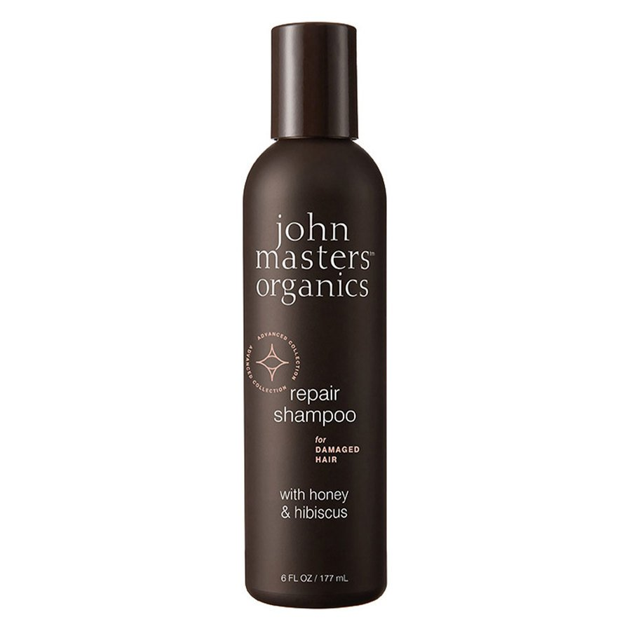 John Masters Organics Repair Shampoo For Damaged Hair With Honey & Hibiscus 177 ml