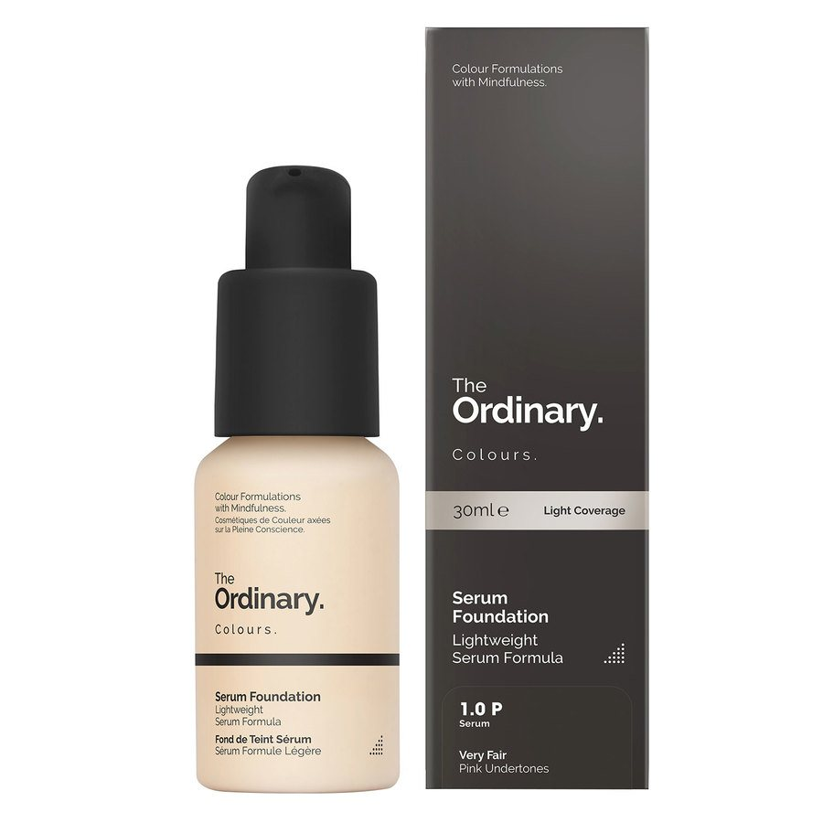 The Ordinary Serum Foundation 30 ml - 1.0 P Very Fair Pink