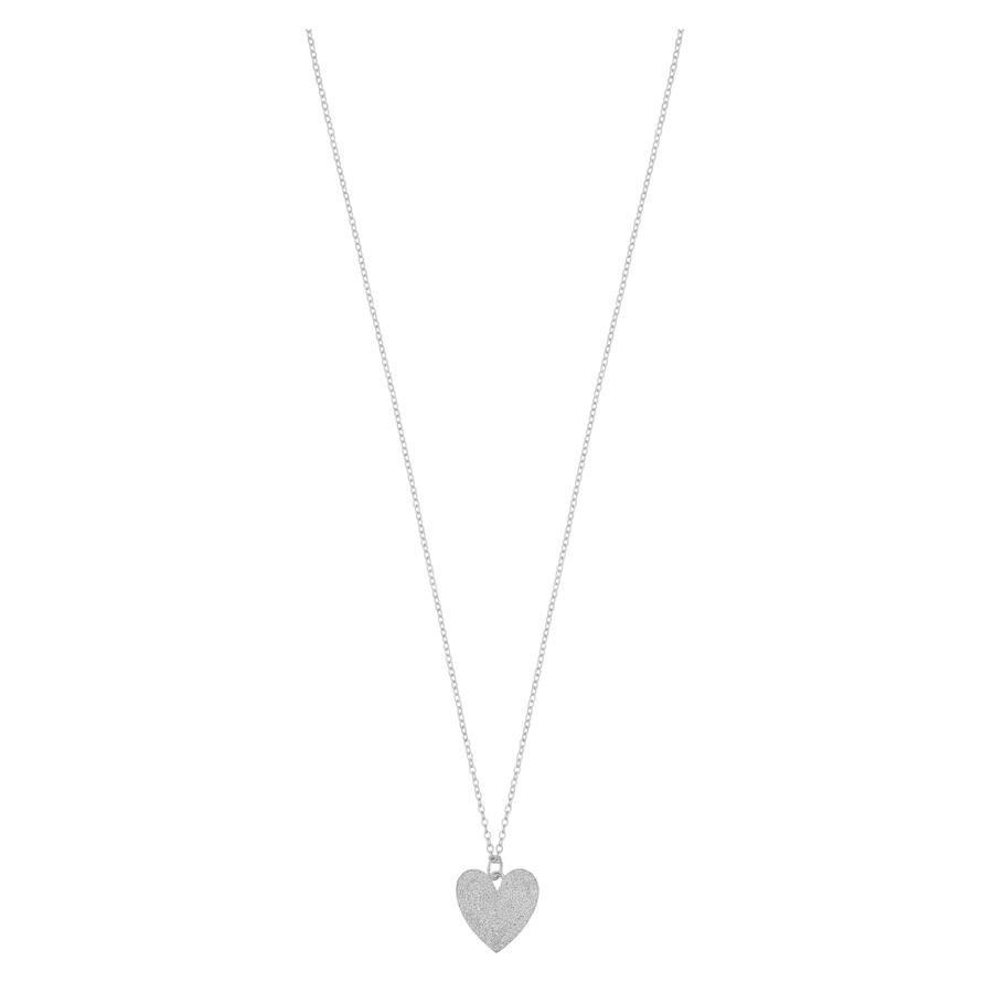 Snö of Sweden Mii Pendant Necklace 42cm Plain Silver