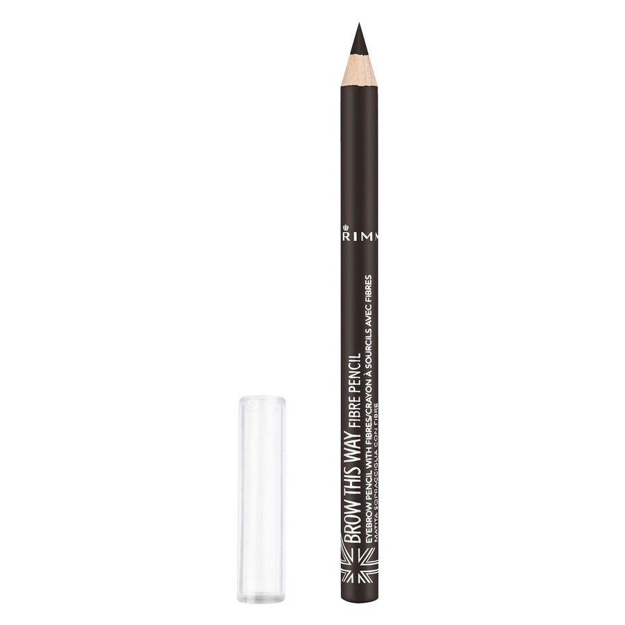 Rimmel London Brow This Way Fibre Pencil 1 g ─ #003 Dark Brown