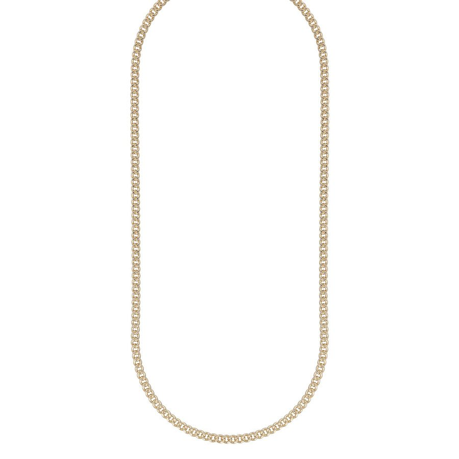 Snö Of Sweden Chase Brad Small Necklace 50 – Plain Gold
