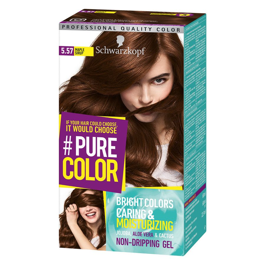 Schwarzkopf Pure Color 142 g ─ 5.57 Maple Sirup