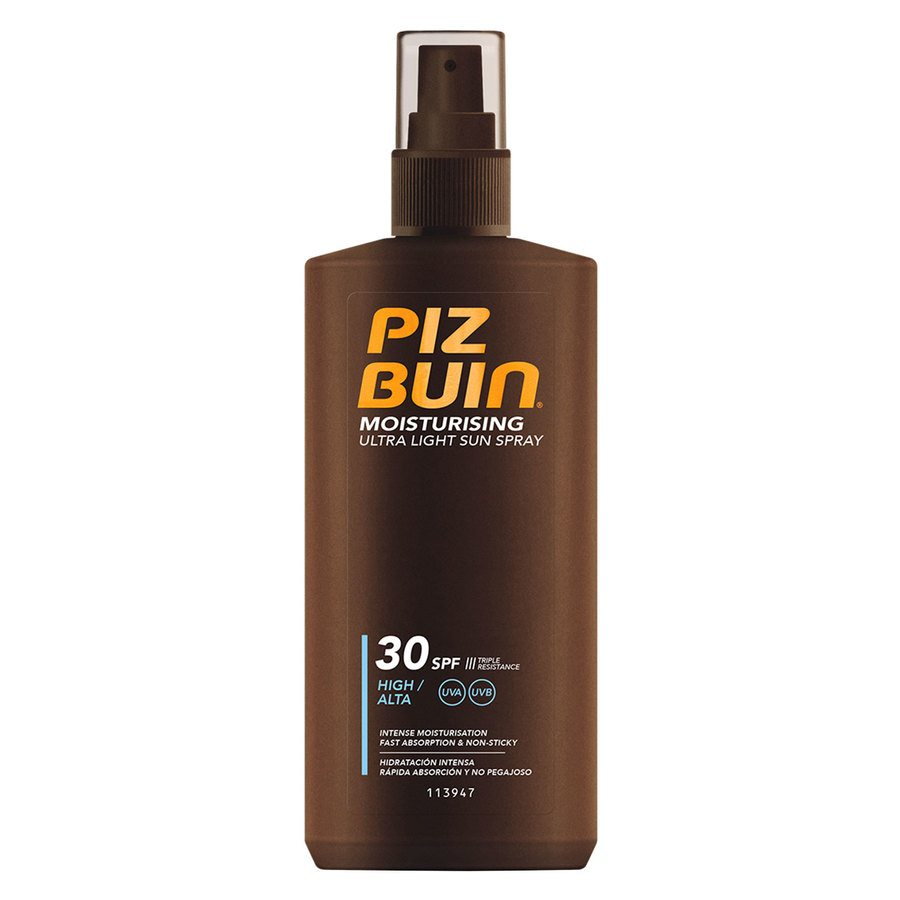 Piz Buin Moisturising Ultra Light Sun Spray SPF 30 200 ml