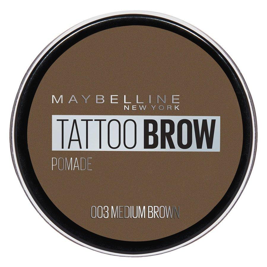 Maybelline Tattoo Brow Pomade Pot – Medium Brown