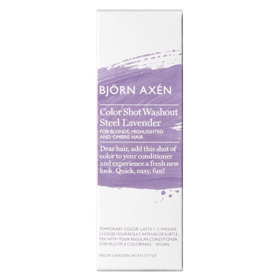 Björn Axén Color Shot Washout Steel Lavender 50 ml