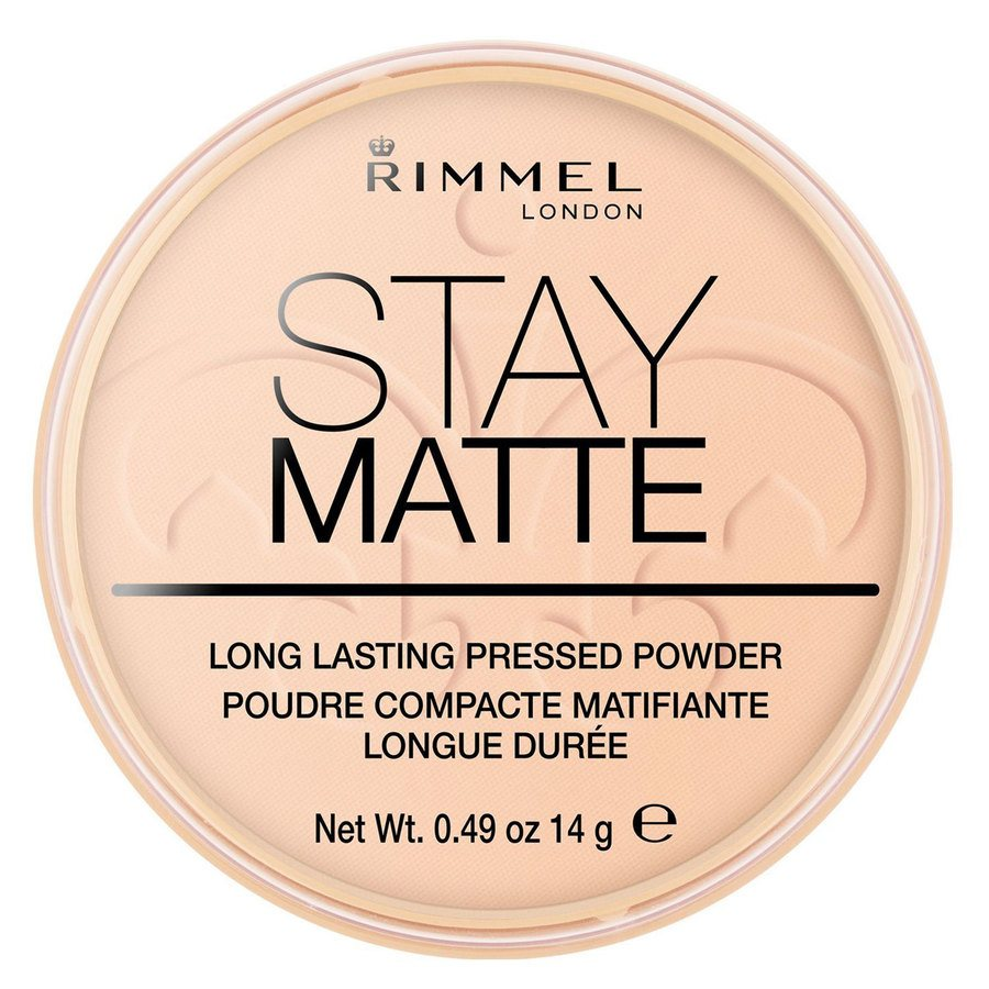 Rimmel Stay Matte Pressed Face Powder Warm Beige 006 14g