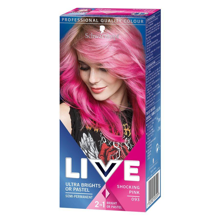 Schwarzkopf Live Ultra Bright – 93 Pink