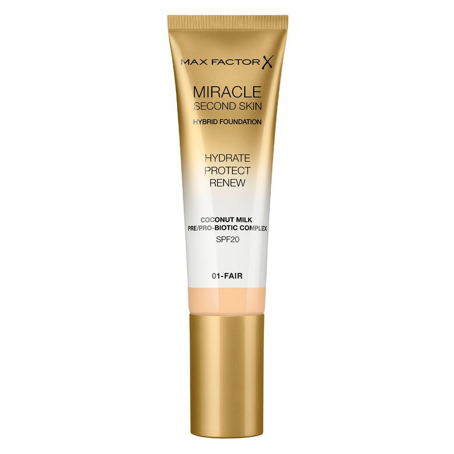 Max Factor Miracle Second Skin Foundation 33 ml ─ #001 Fair