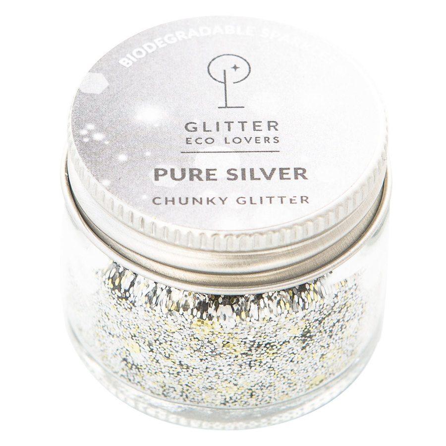 Glitter Eco Lovers 15 ml - Pure Silver