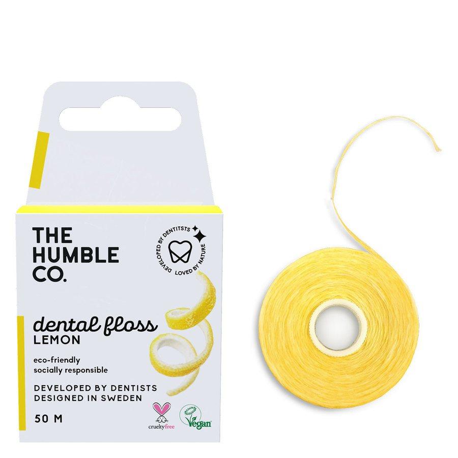 The Humble Co Dental Floss 50 m – Lemon
