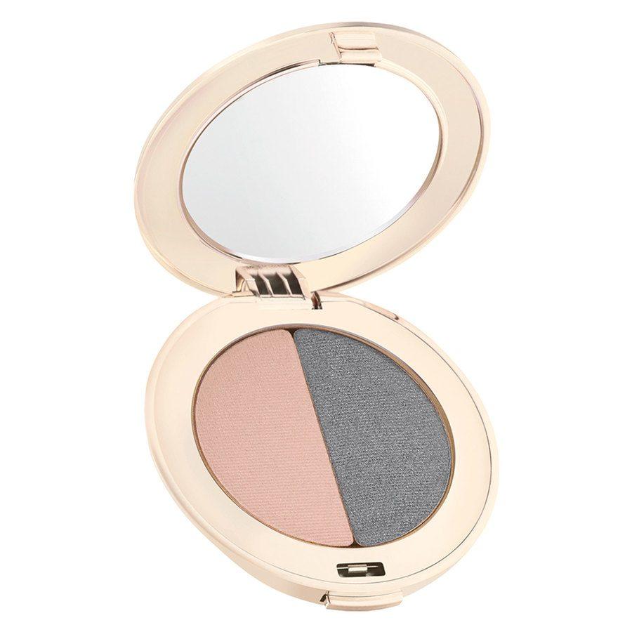 Jane Iredale PurePressed Duo Eye Shadow 2,8 g ─ Hush/Smokey Grey