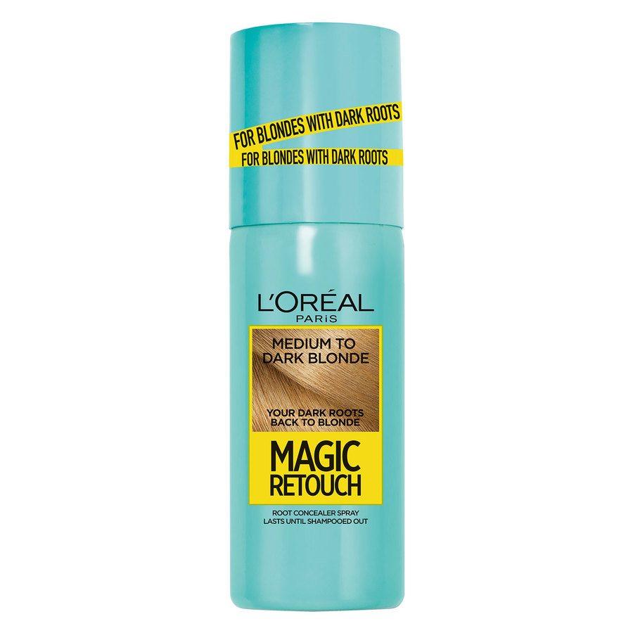 L'Oréal Paris Magic Retouch 75 ml - Medium To Dark Blonde