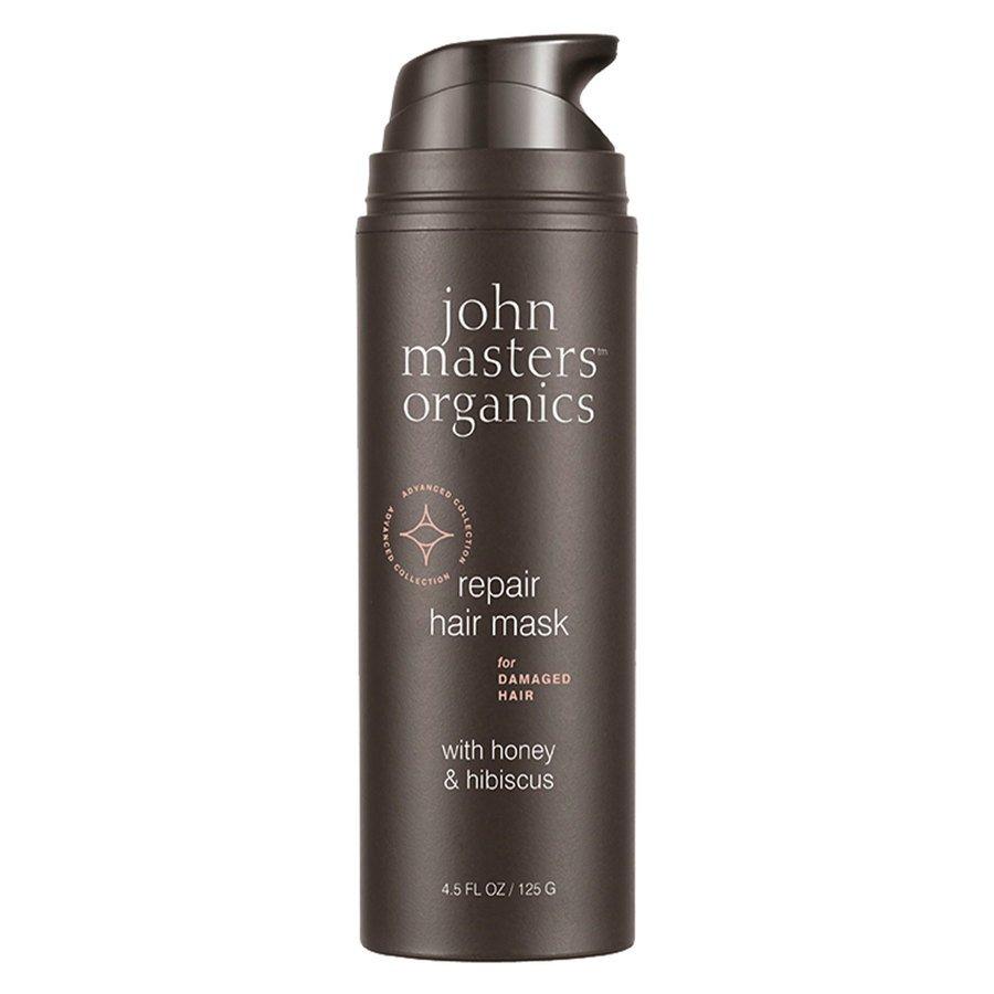 John Masters Organics Repair Hair Mask For Damaged Hair With Honey & Hibiscus 125 g