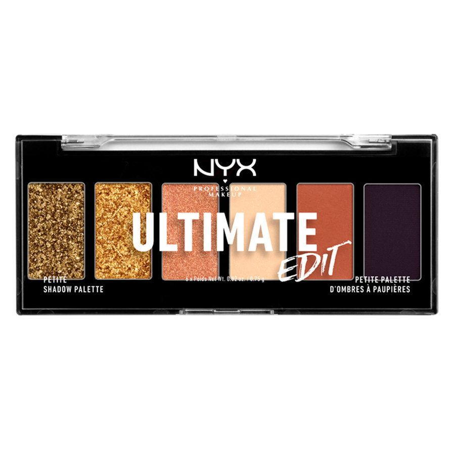 NYX Professional Makeup Ultimate Edit 06W Petite Shadow Palette 6 x 0,75 g