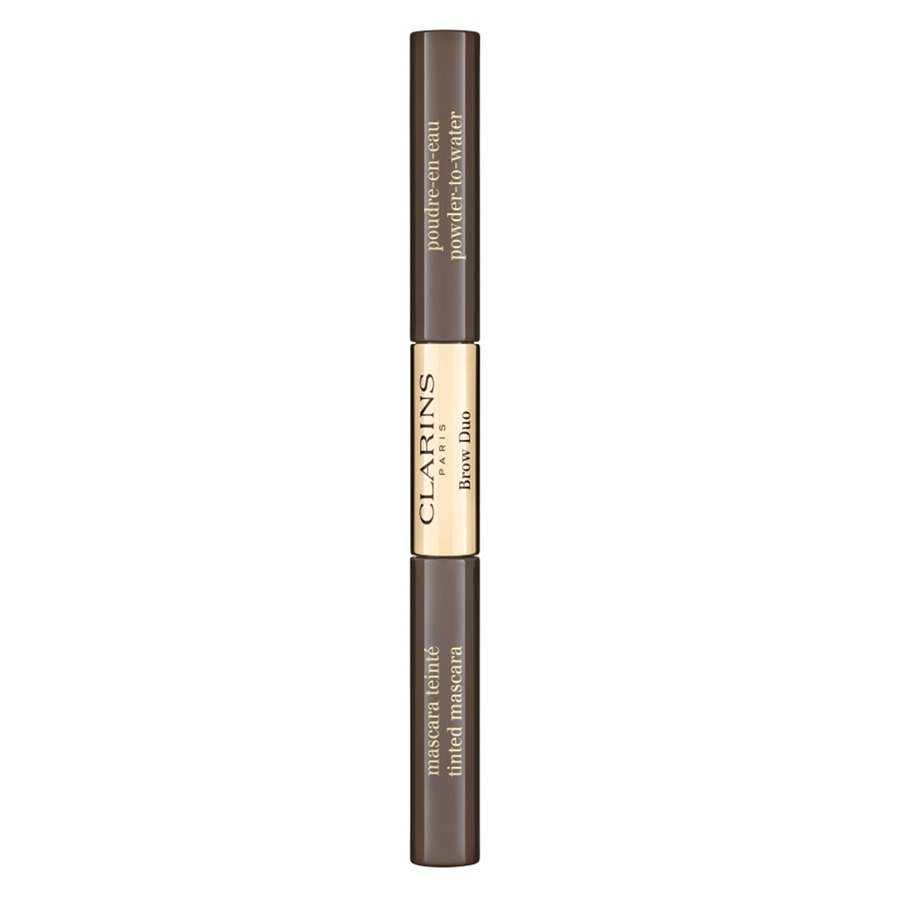 Clarins Brow Duo 2,8 g ─ 05 Dark Brown