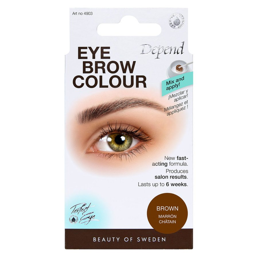 Depend Eyebrow Colour - Brown