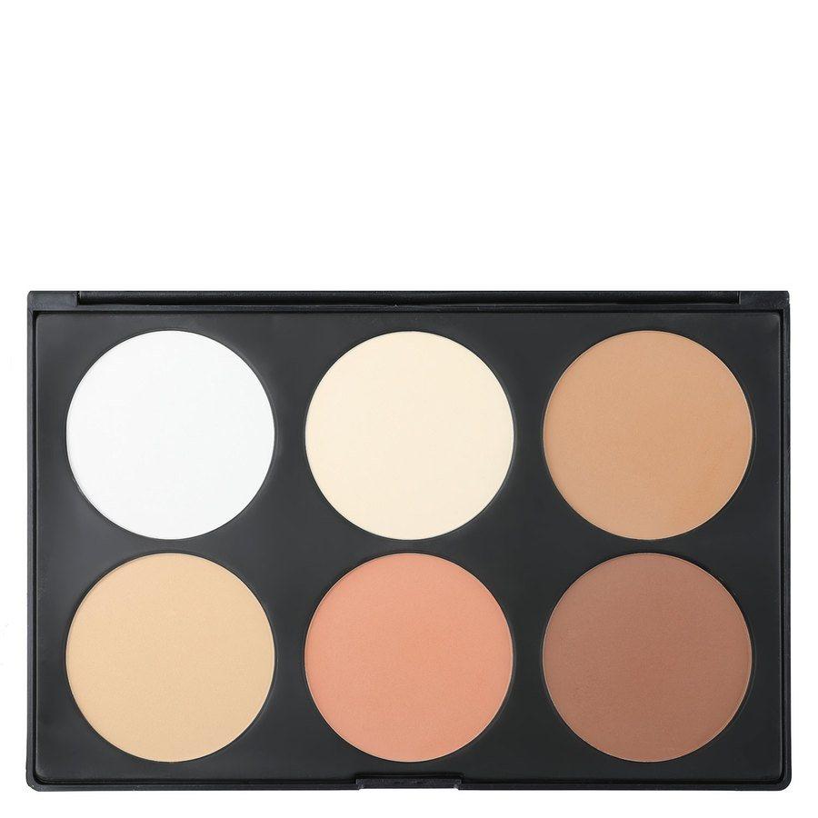 Smashit Cosmetics 6 Color Contour Powder Palette – Light Skin Mix 1