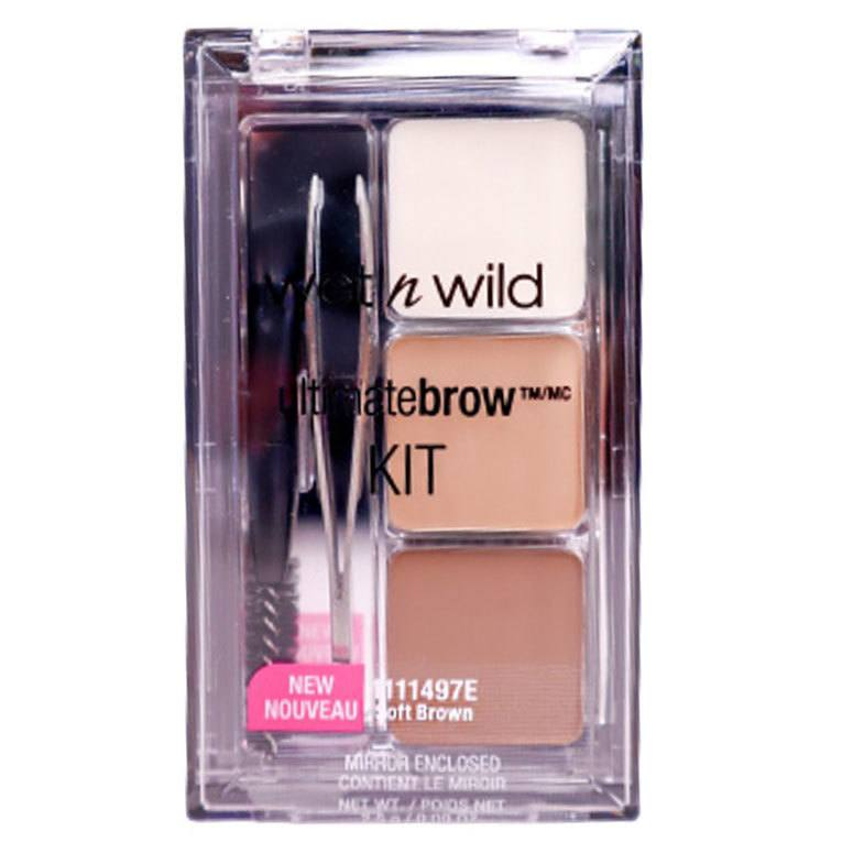 Wet'n Wild Ultimate Brow Kit Soft Brown