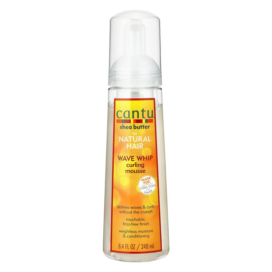 Cantu Shea Butter For Natural Hair Wave Whip Curling Mousse 248 ml