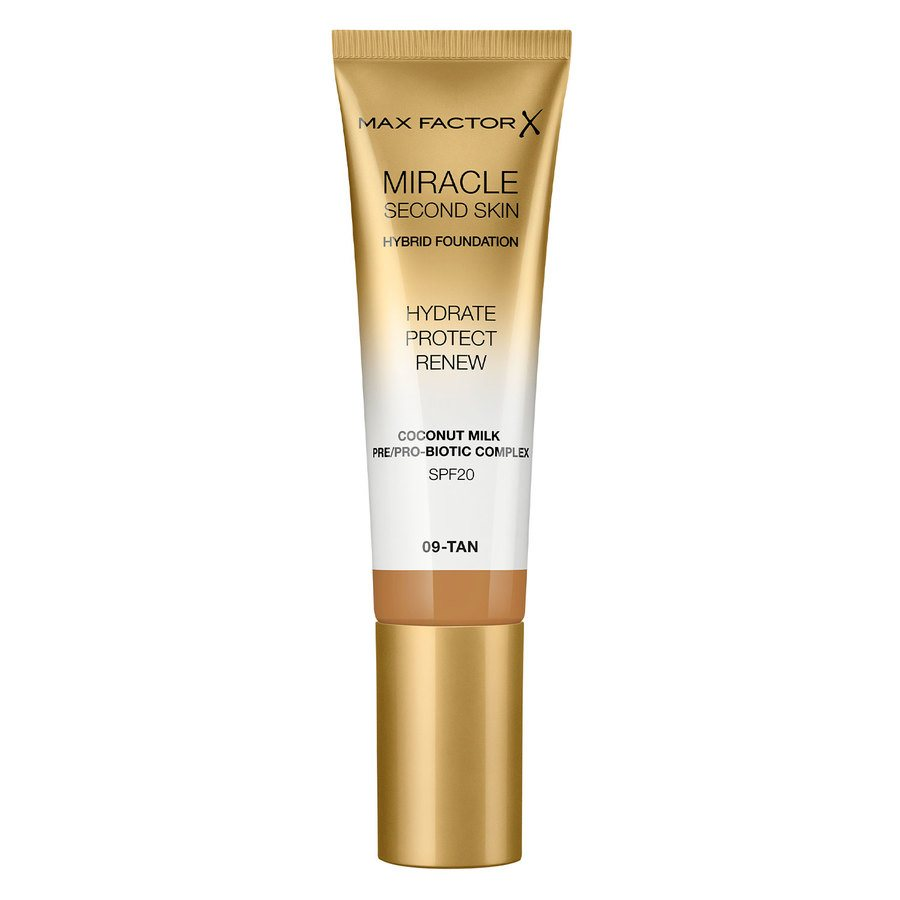 Max Factor Miracle Second Skin Foundation 33 ml ─ #009 Tan
