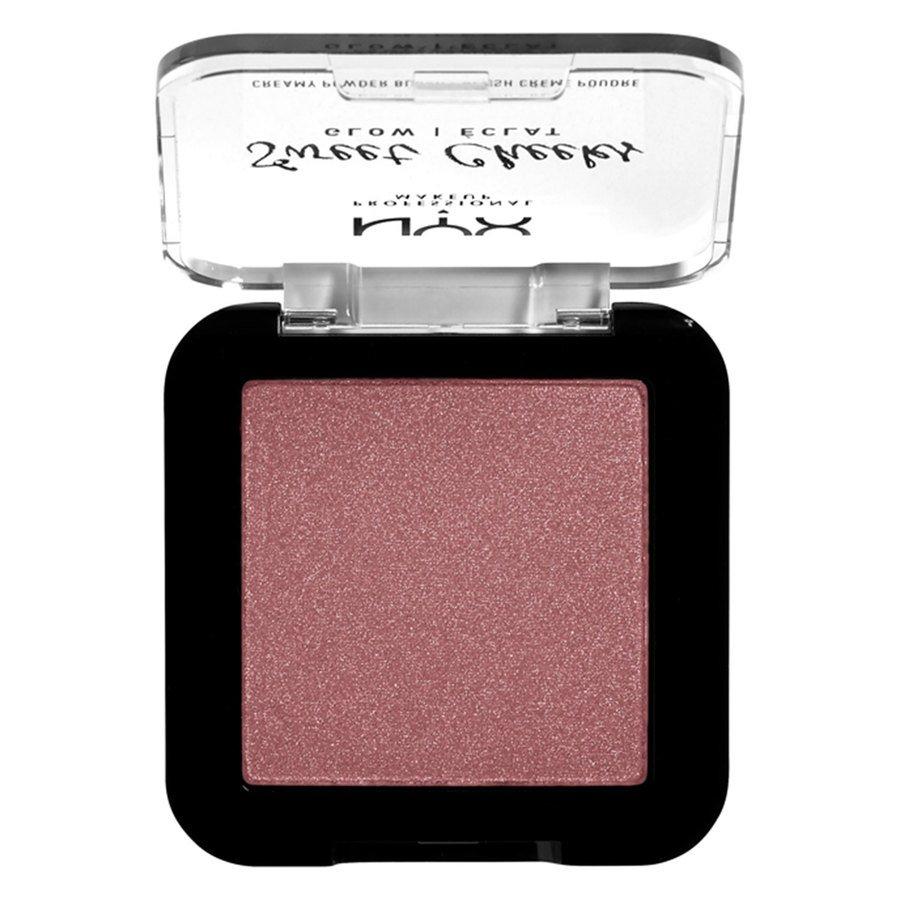 NYX Professional Makeup Sweet Cheeks Creamy Powder Blush Glowy 5 g - Fig