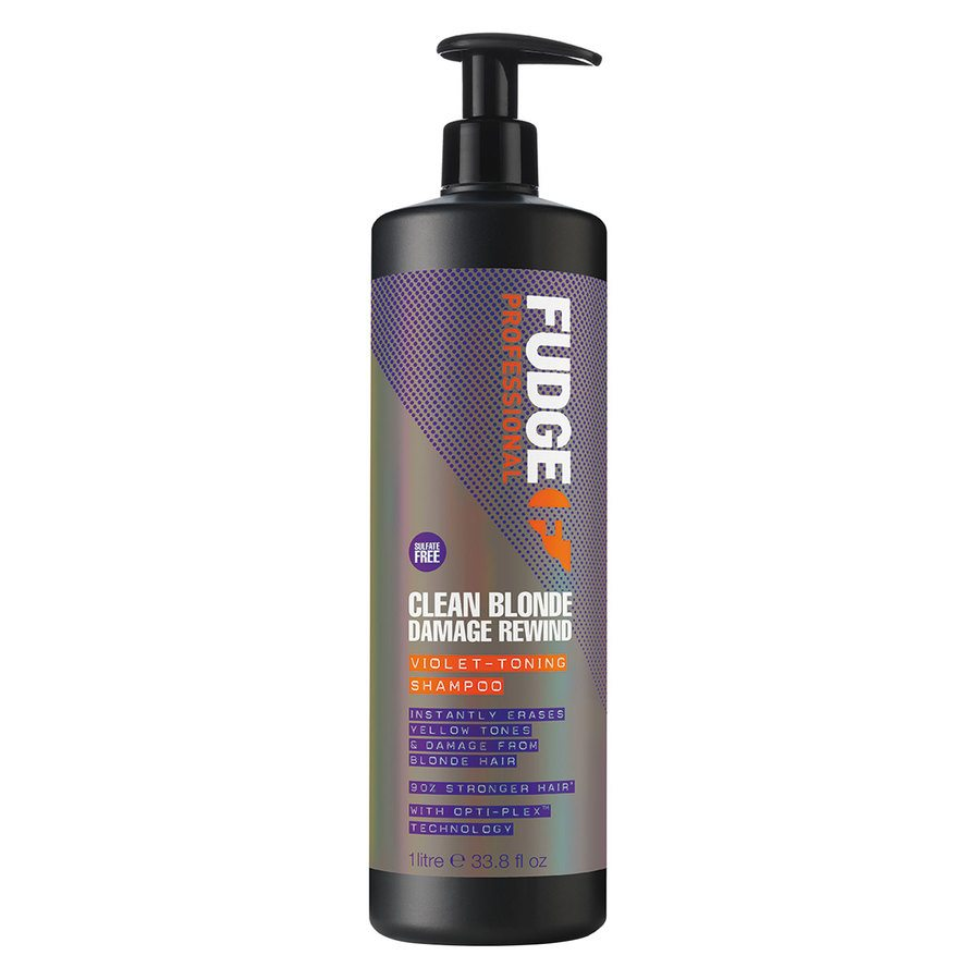 Fudge Clean Blonde Damage Rewind Violet Toning Shampoo 1 000 ml