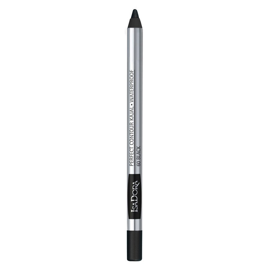 IsaDora Perfect Contour Kajal Waterproof 1,3 g ─ #60 Black