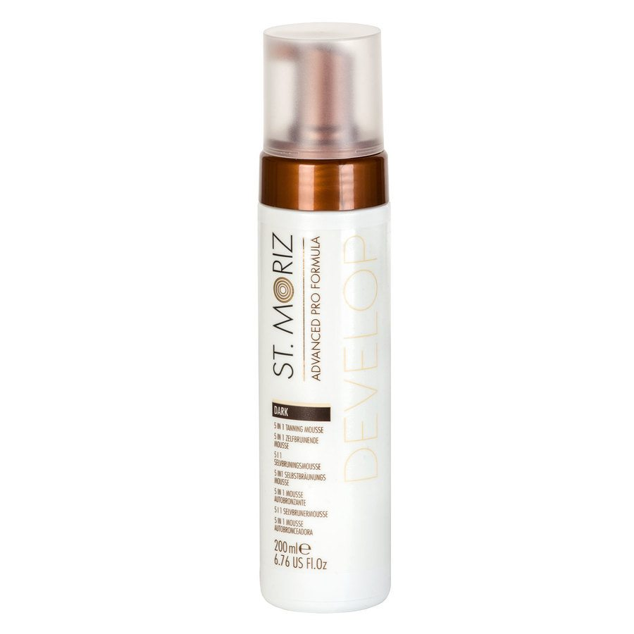 St. Moriz Advanced Pro Formula Develop 5 In 1 Tanning Mousse 200ml – Dark