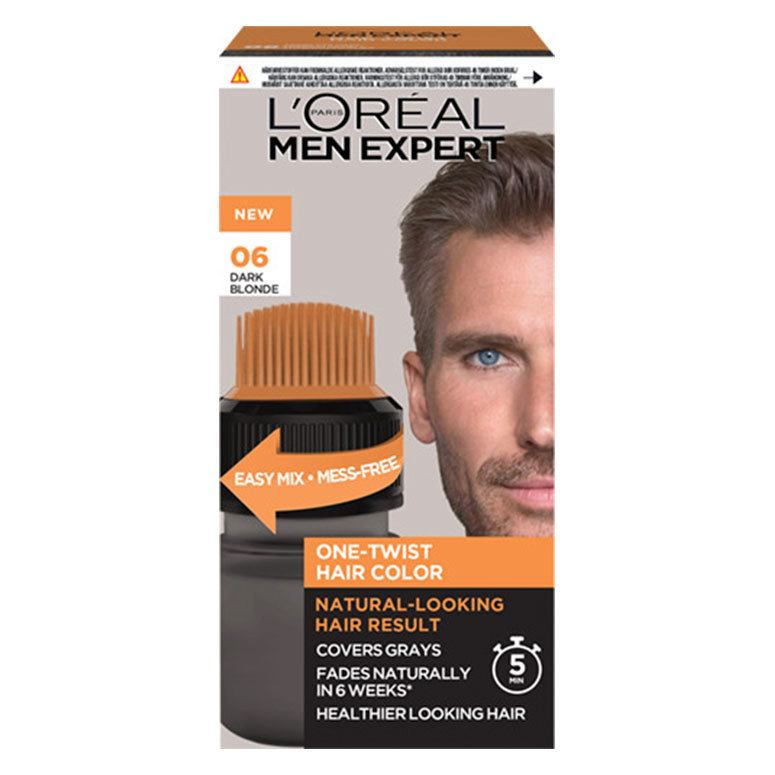 L'Oréal Paris Men Expert One-Twist Hair Color – 06 Dark Blond