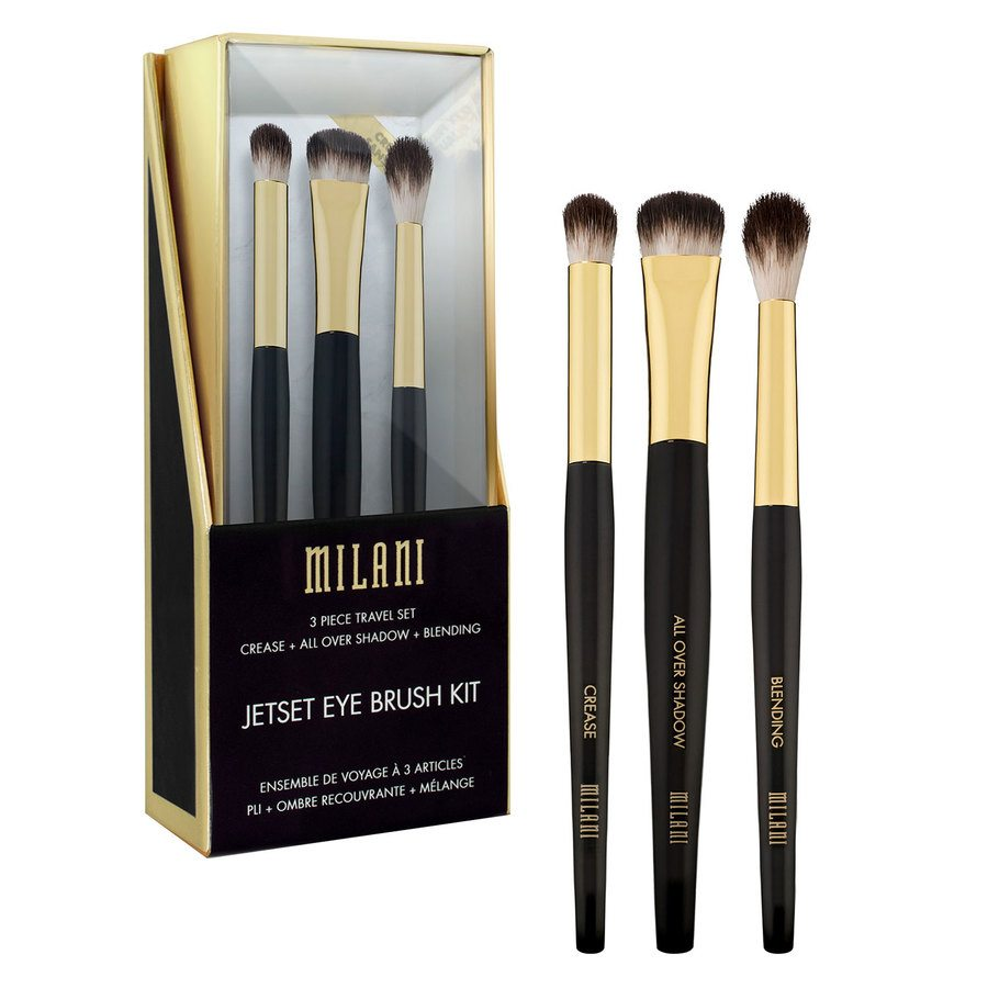 Milani Jetset Eye Brush Kit 3 kpl