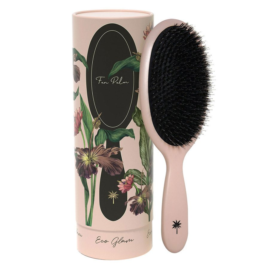 Fan Palm Boar & Nylon Brush Eco Glam – Large